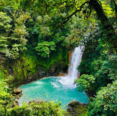 The best in Waterfall in Costa Rica